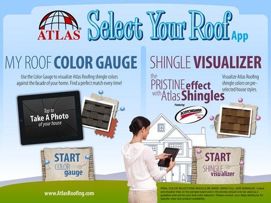 Screenshot Of Our Shingle Visualizer Shingle Colors Roof Shingle Colors Visualizer App