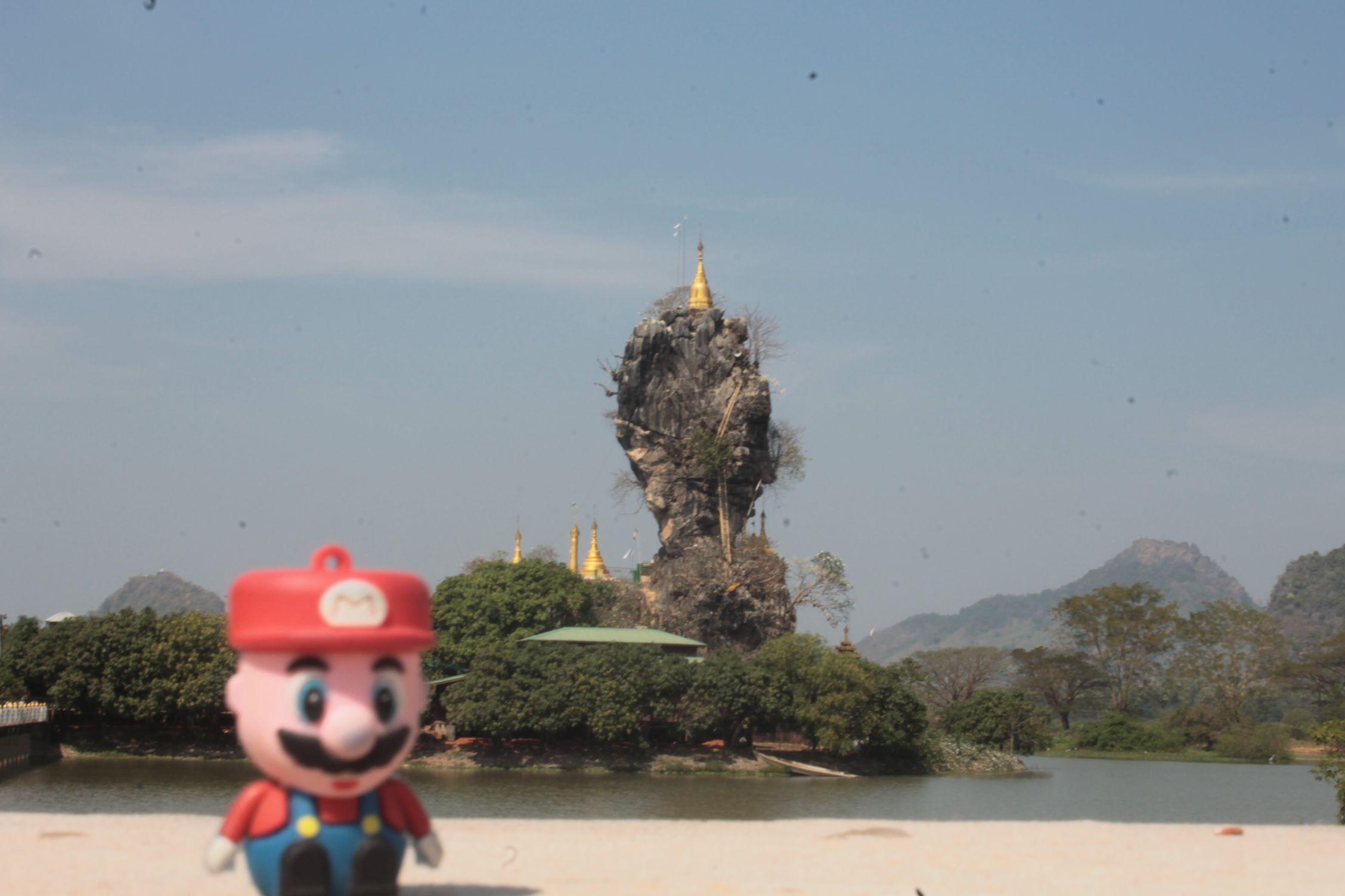 en Kyaup Kalap pagoda, Hpa-An