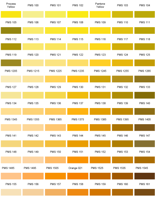 Pantone Color Chart  Nuancier  Colors And PalettesRedsOranges