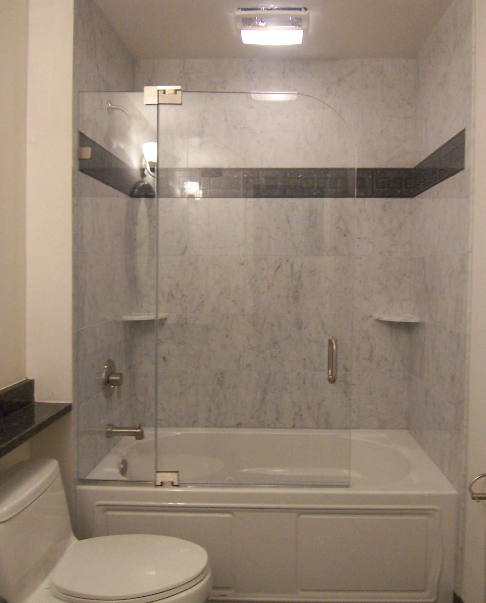 Frameless Shower Doors For Tub Enclosures BEAUTIFUL GLASS DOOR THAT ...