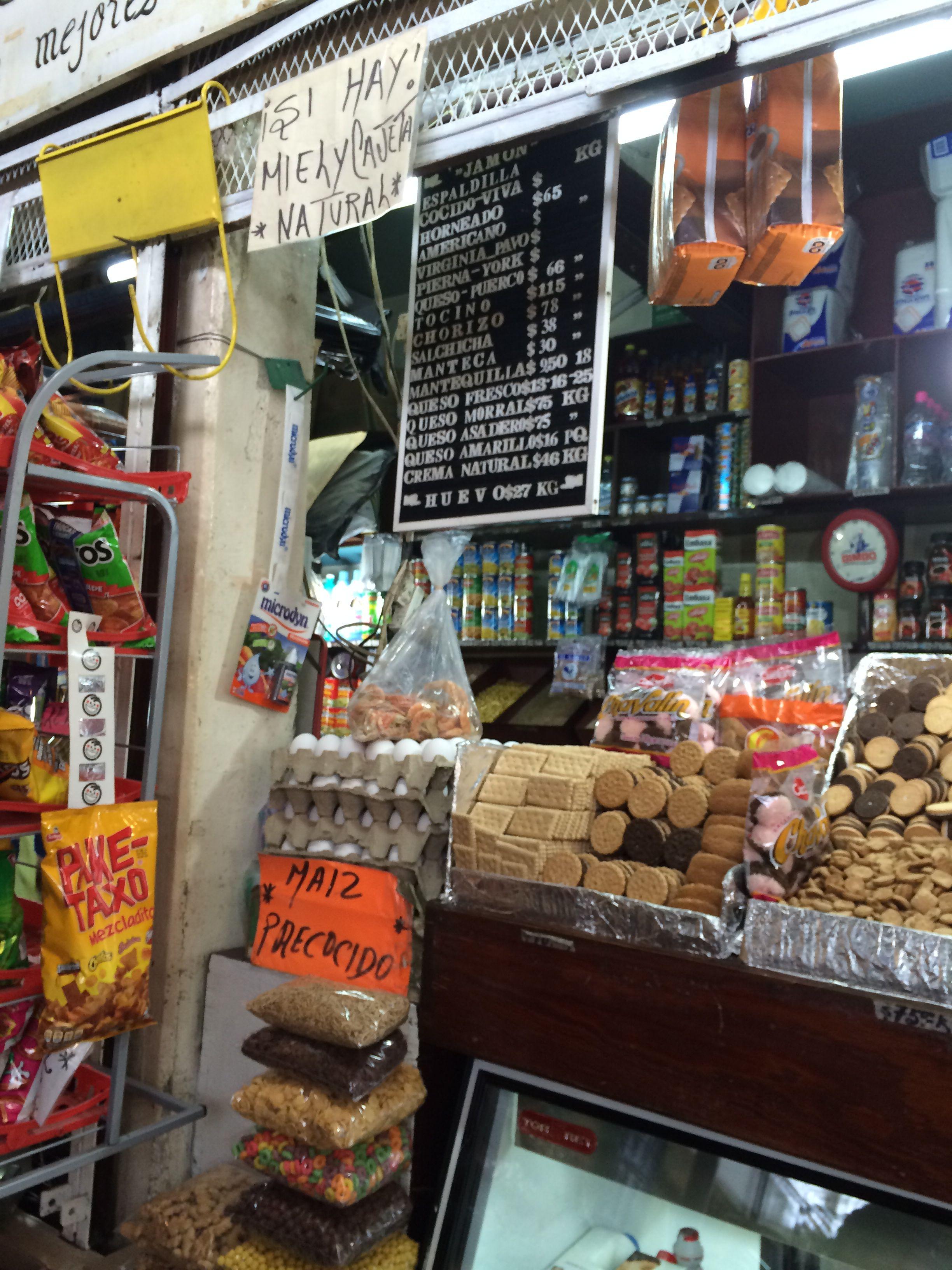 Stand, market Lagos de Moreno