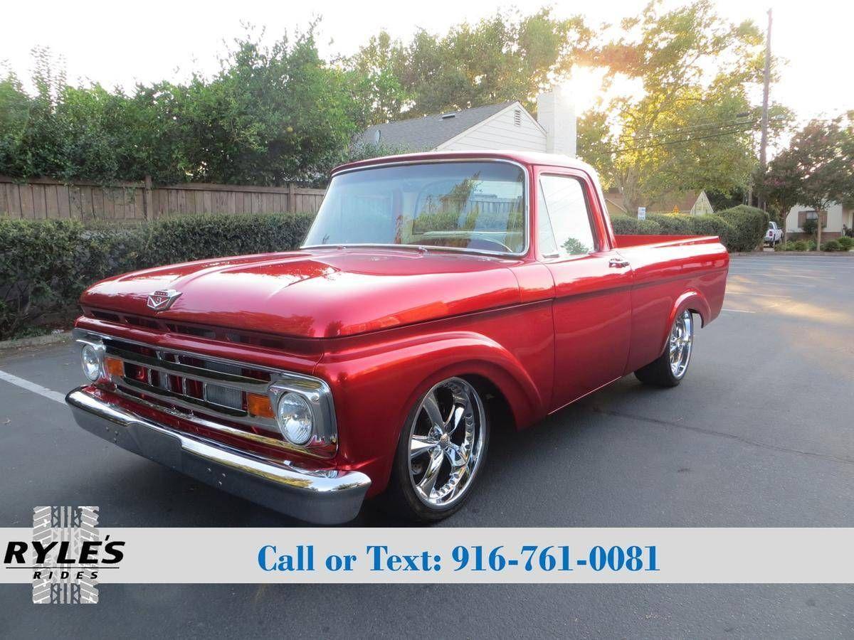 1962 Ford F100 For Sale 2005366 Hemmings Motor News Trucks 1948 Truck Flathead 6