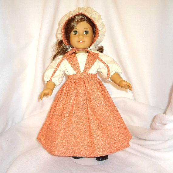 American Girl doll dress.  Fivepiece outfit.  by SewMuchCare, $19.00