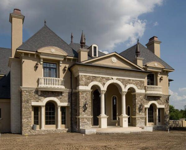 castle luxury house plans manors chateaux and palaces in european period styles country style homesfrench
