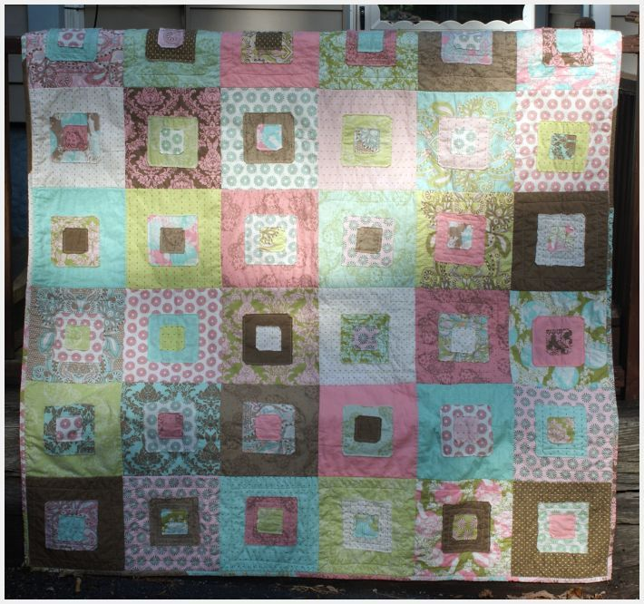 Scruffily quilt by Rachel Griffith...have fabric to make this quilt...