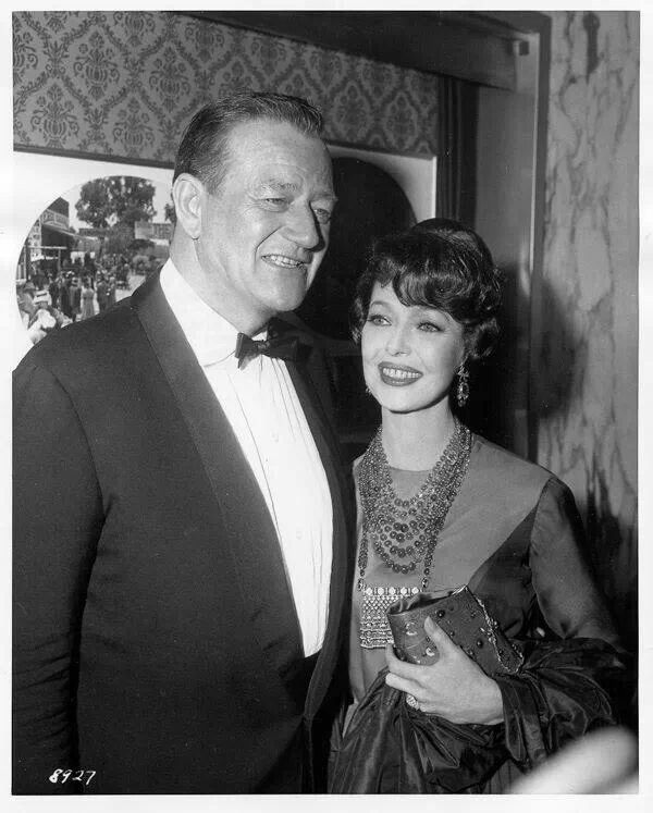 Image result for john wayne loretta young