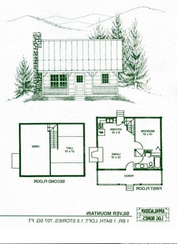 Image Result For Tiny Cabin Plans With Loft Loft Floor Plans Cabin Plans With Loft Small Cabin Plans