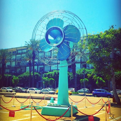 giant fan in Tel Aviv | Places to go, Roadside attractions, Travel with kids