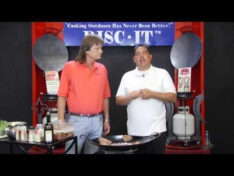 Photo of Garlic Pepper Steak on the Disc-It – DISC-IT Grill –  Garlic Pepper Steak on the…