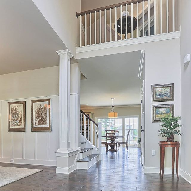 The #entry of our #Avondale model! See more entryway design ideas at http://www.houzz.com/ideabooks/51303402/thumbs/entryways