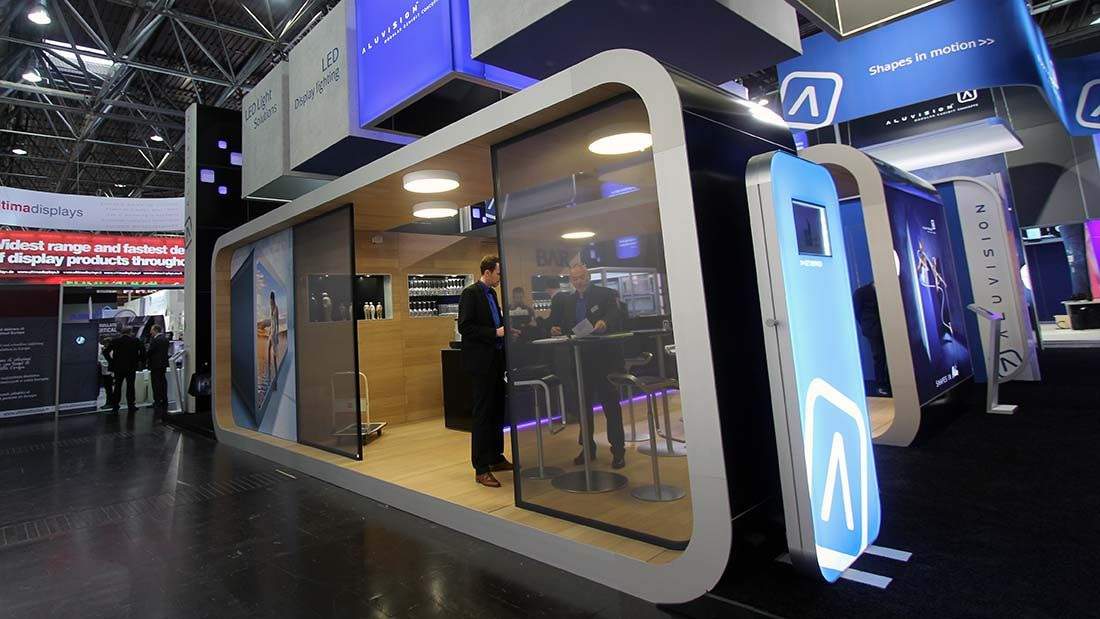 Aluvision | Euroshop 2014 | #exhibition #messe #stand # ...