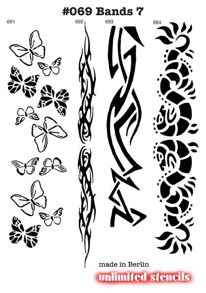Tribal Tattoo Stencils Armband Tattoo Designs Tribal Armband