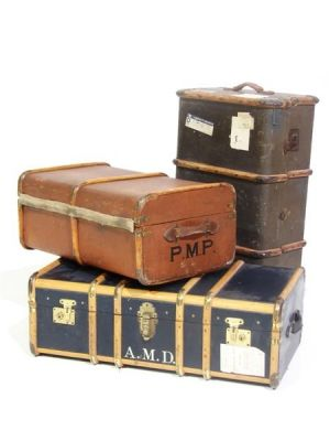 Event Prop Hire: Vintage Travel Luggage | Photo Booths & Props ...