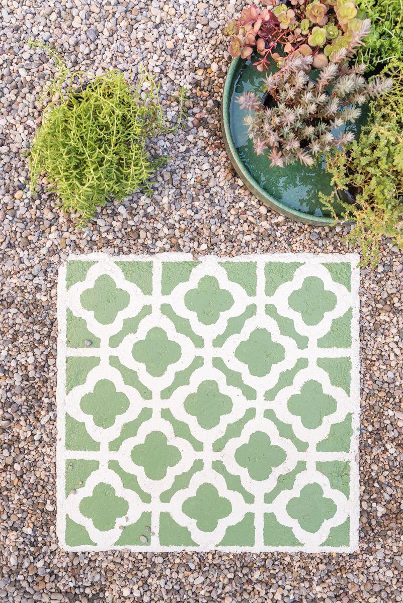 Upcycling Garten diy betonplatten upcycling für den garten garten tile ideas and