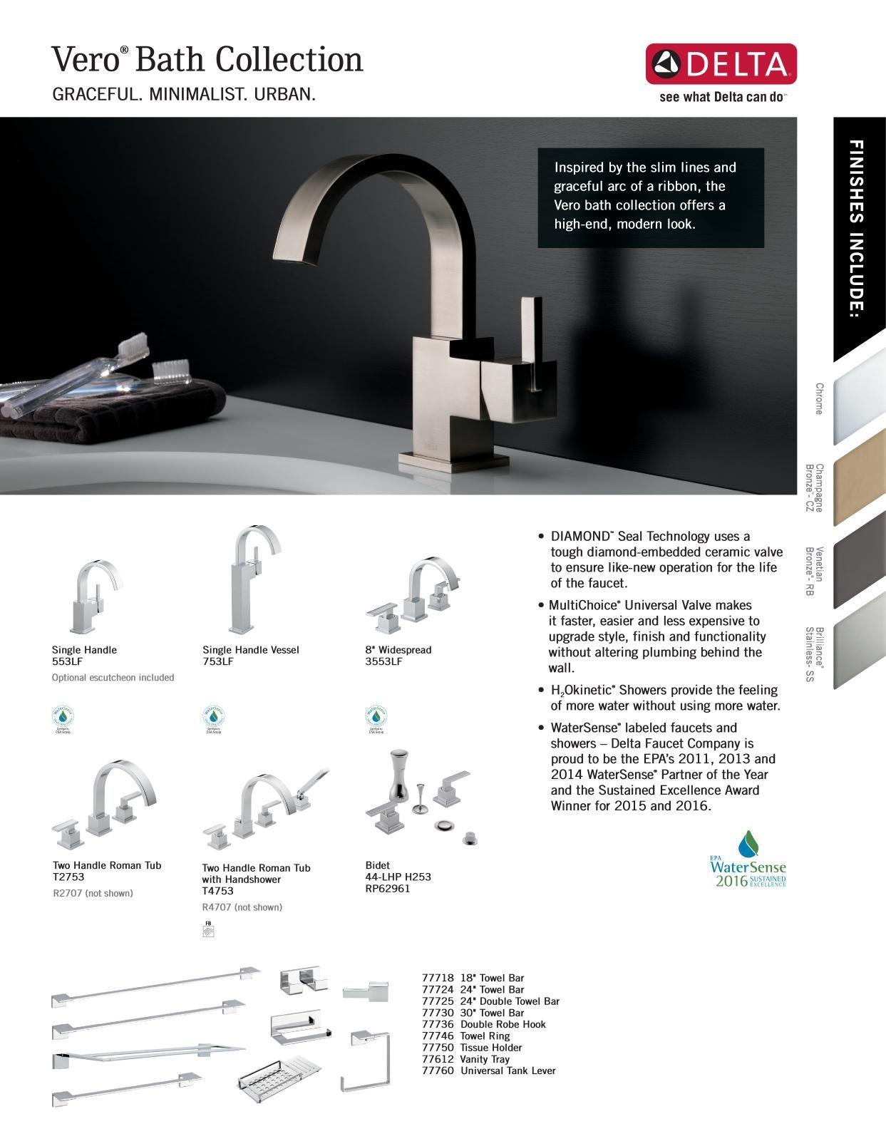 Delta Faucet Online Catalogs Delta Faucets Faucet Bath