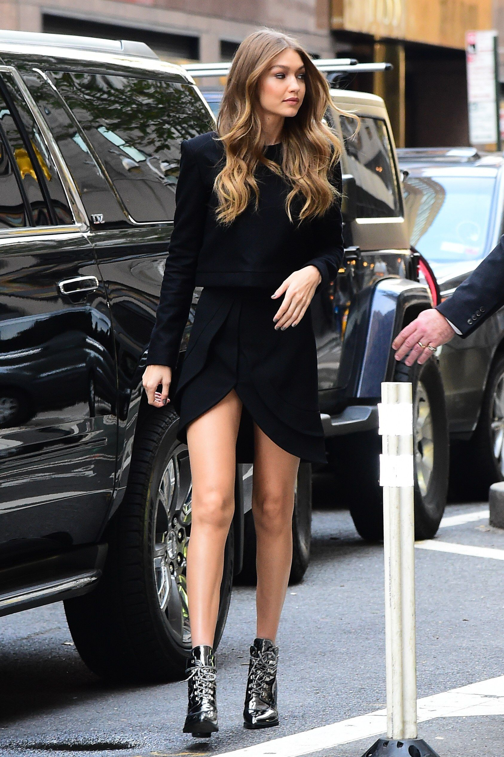 e7d6c0378d Victoria s Secret Fashion Show Fittings Street Style  See the Photos