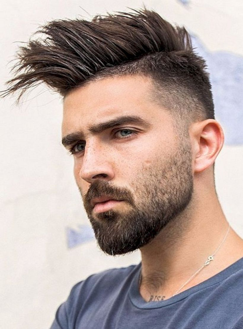 New style haircuts for men  new hairstyles for men in   beards u furry stuff  pinterest