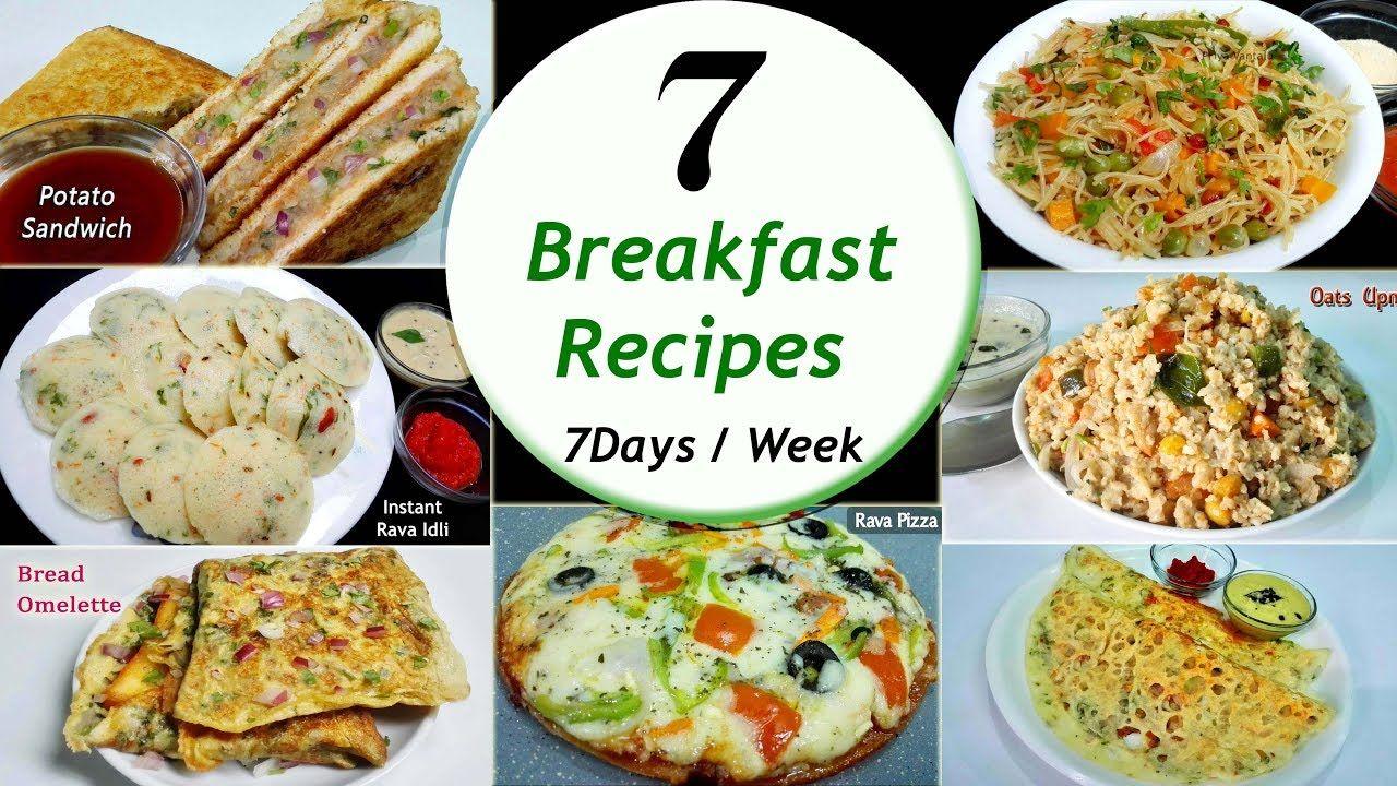 7 breakfast recipes 7 daysweek breakfast recipes simple food forumfinder Gallery
