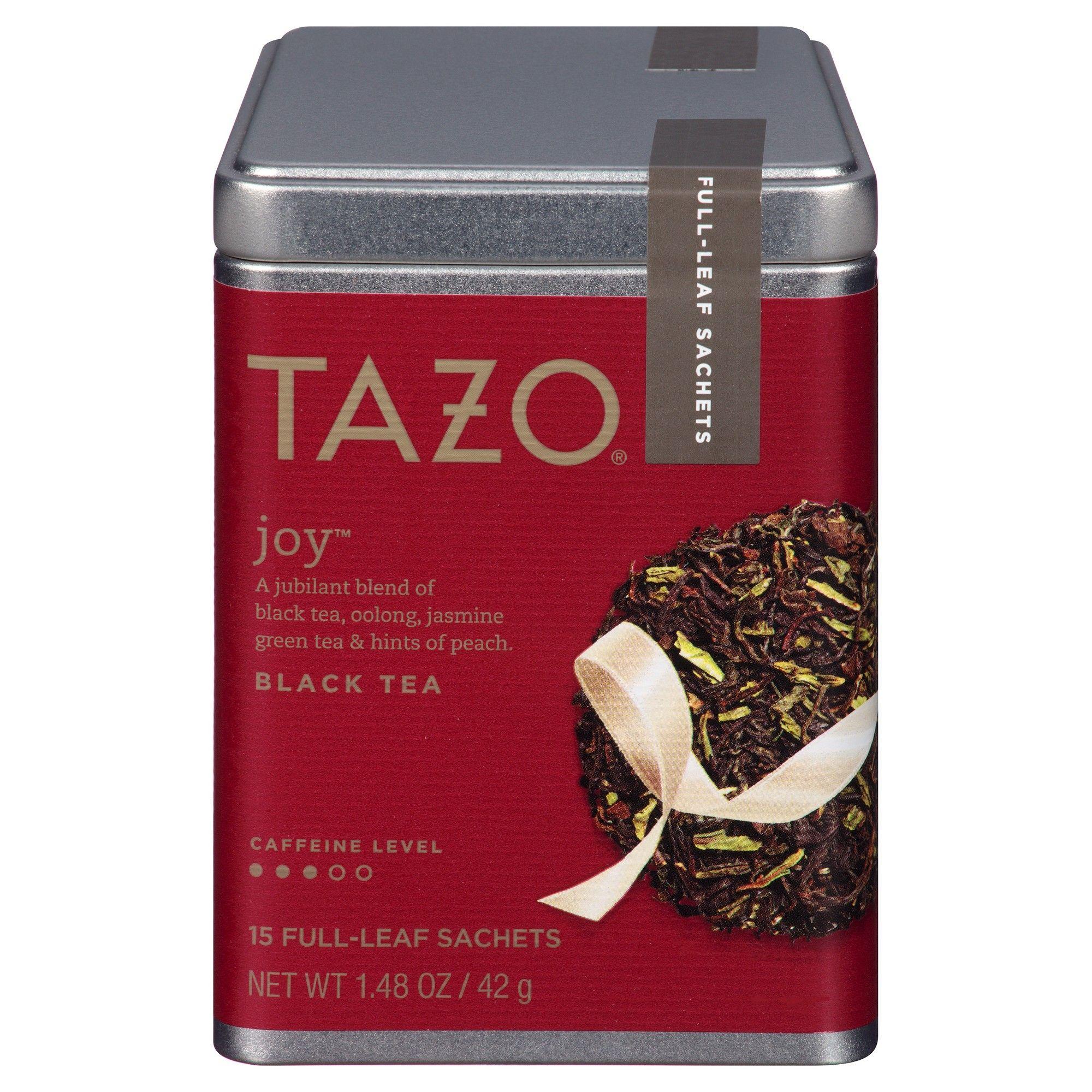Tazo Joy Black Tea Sachets 15 ct Tazo, Tea, Jasmine