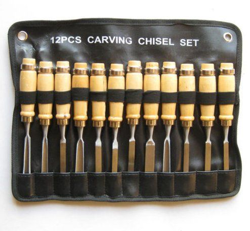 carving set wood