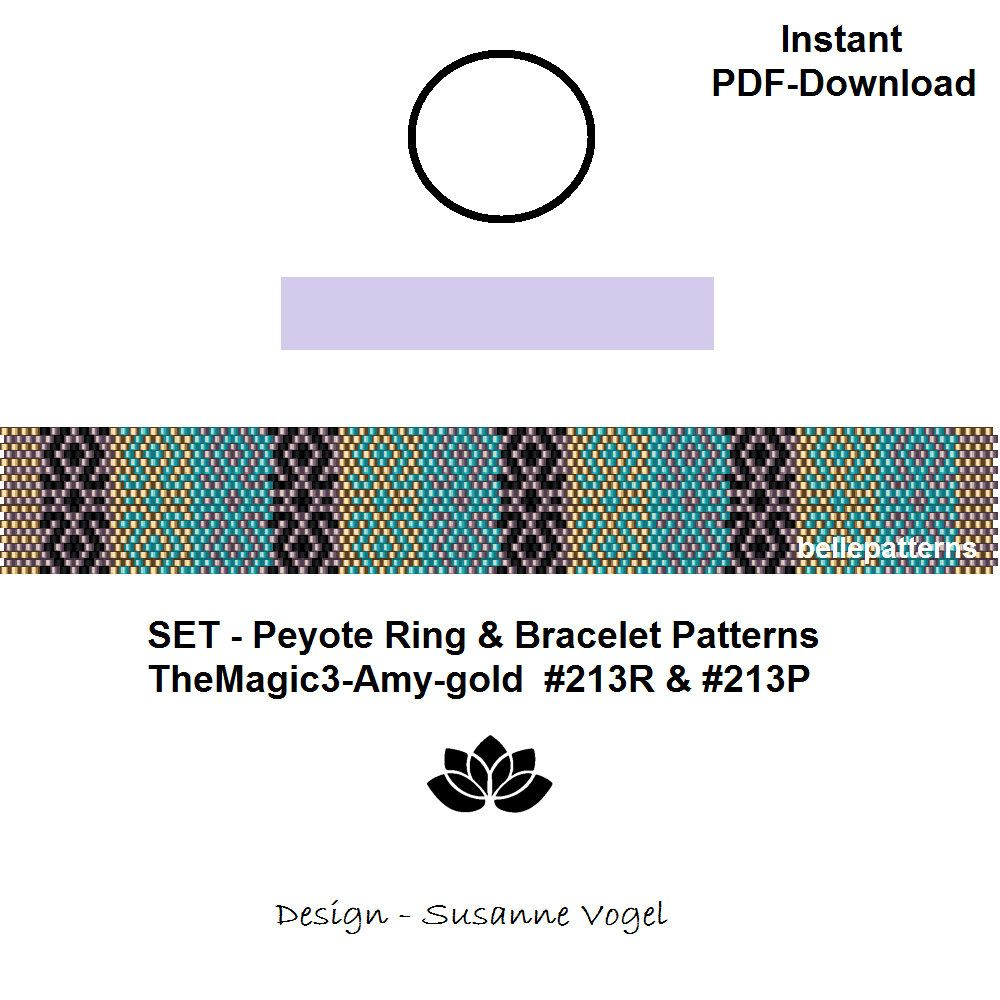 Design Patterns By Tutorials Pdf: set peyote bracelet patternpeyote ring pattern pdf-download rh:pinterest.com,Design