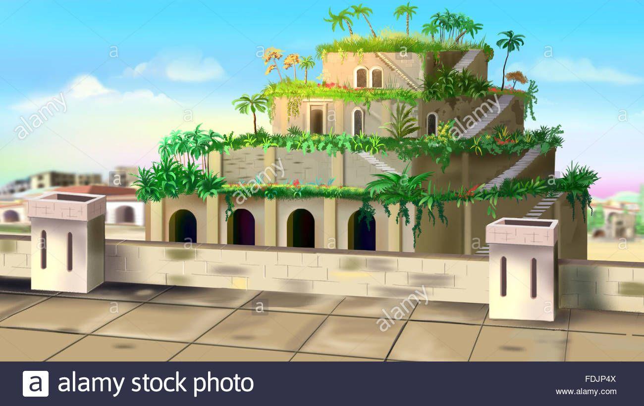 30cbf7cd01e4df41d75a6d01b3e7a4a6 - How Big Is The Hanging Gardens Of Babylon