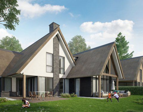 Een modern landelijke woning in rotterdam een fantastisch for Moderne villa architectuur
