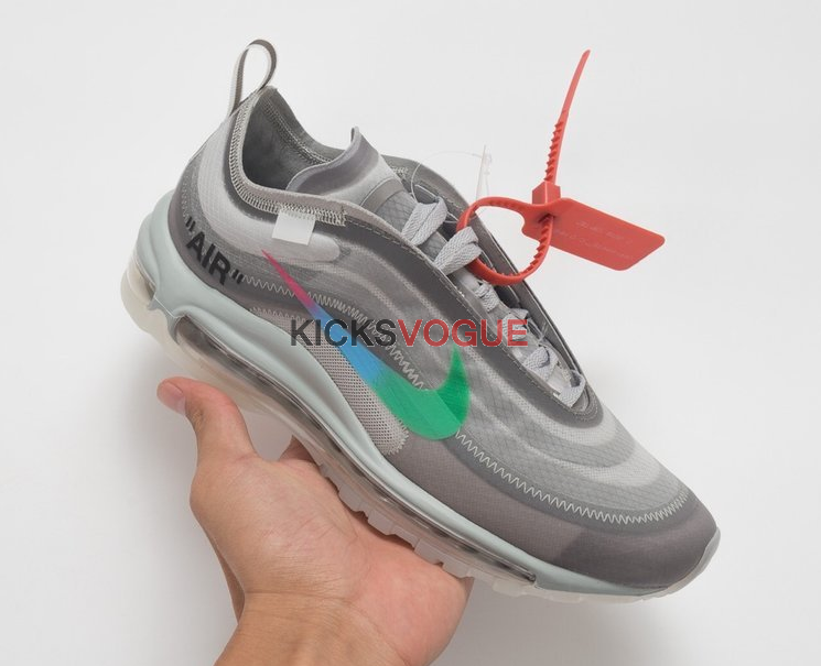 online store c1912 0a006 Off-White x Nike Air Max 97 Wolf Grey-White-Menta