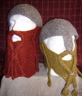 2e3427d4d13 Dwarven Battle Bonnet Knitting Pattern. I m sure it could be converted to  crochet