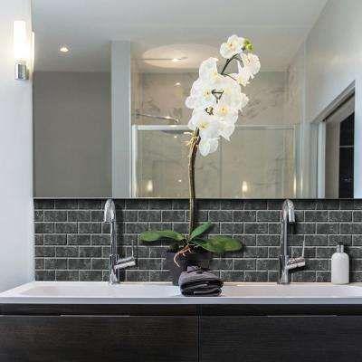 Transform Your Bathroom With L And Stick Backsplash Tiles Smart Tilesdecorative Wall