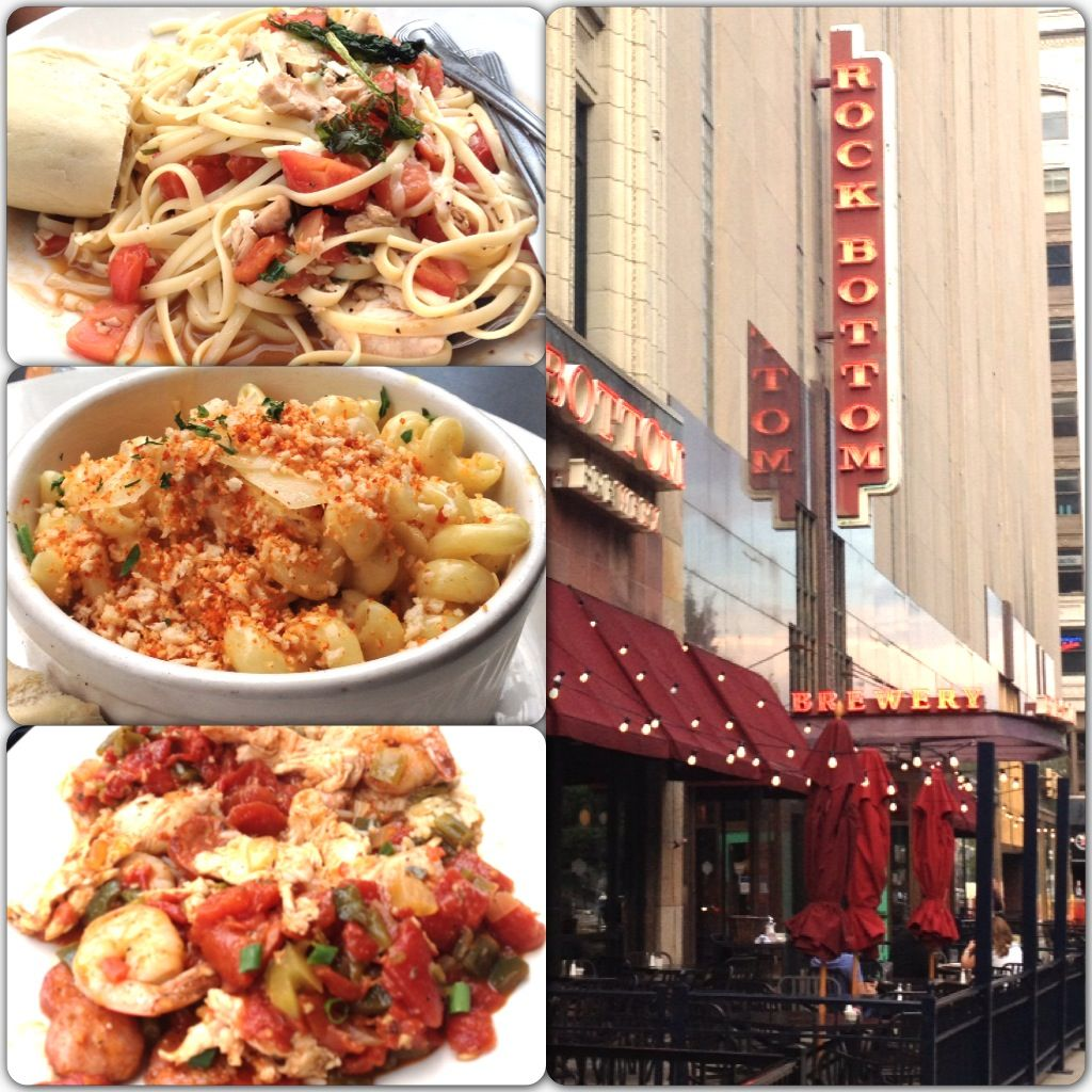 Downtown Indianapolis Delicious Food At Rockbottom