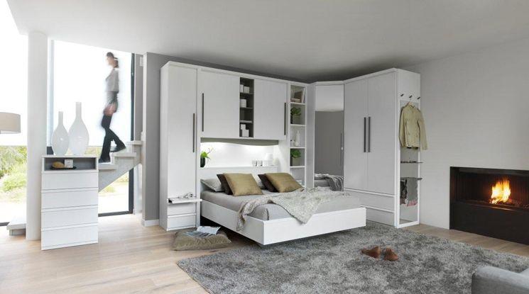Armoire D Angle Pluriel Rangement Pour Petite Chambre Tete De Lit Dressing Meuble Celio