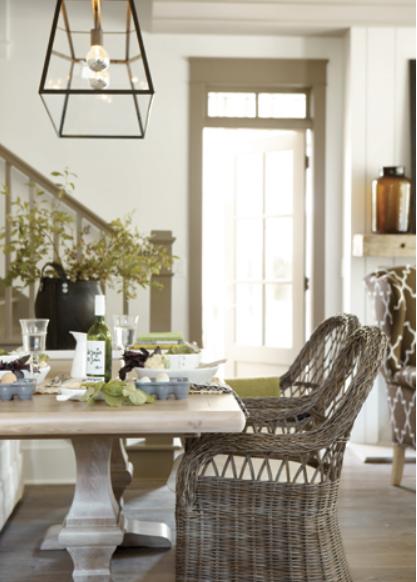 Bosch ballard designs dining room in serenbe