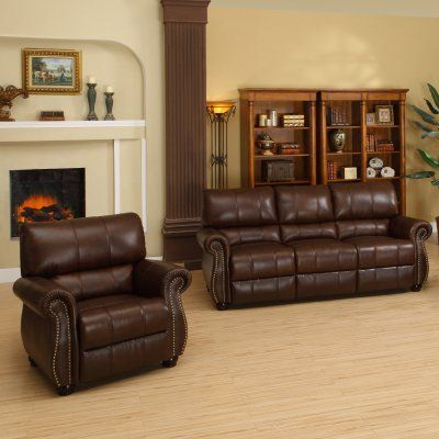 Fantastic Abbyson Lorenzo Dark Burgundy Italian Leather Chair And Sofa Andrewgaddart Wooden Chair Designs For Living Room Andrewgaddartcom