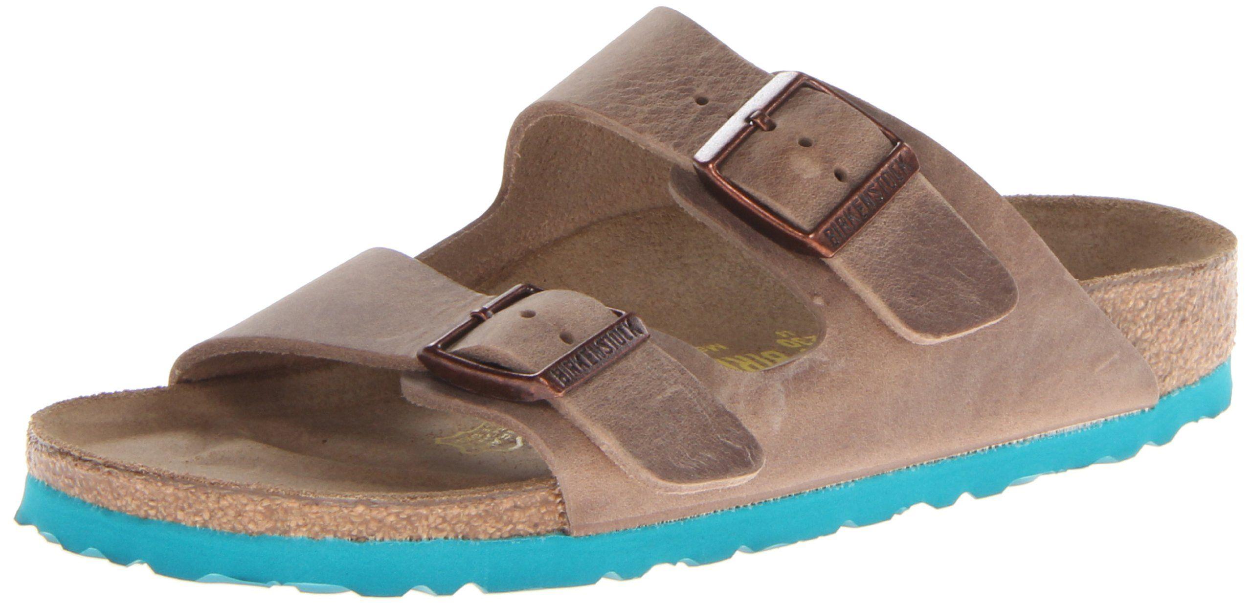 2279446a6740 Birkenstock Unisex Arizona LT Mint Sole Sandal