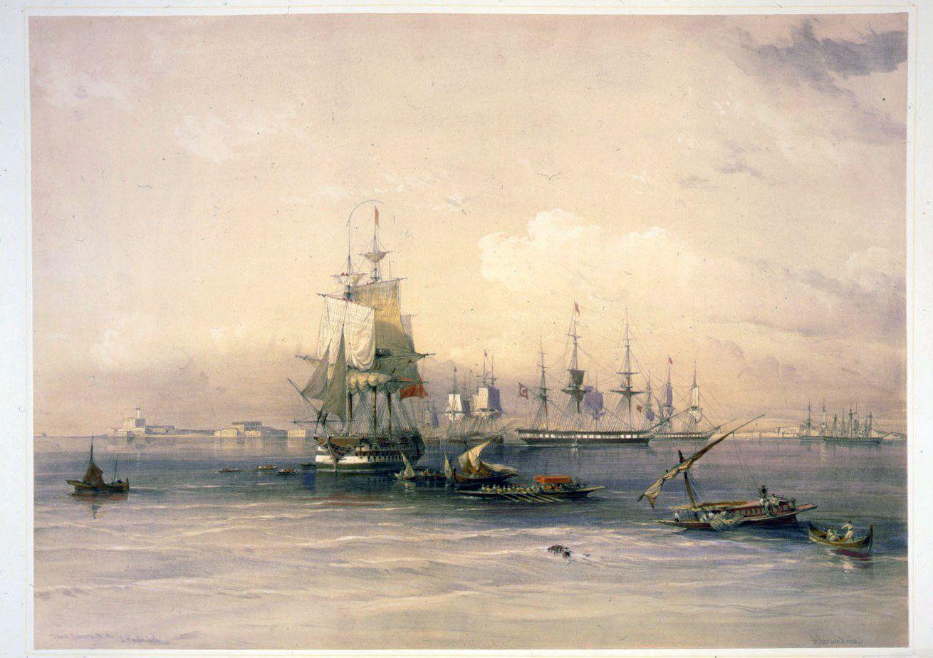 David Roberts original painting