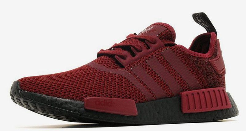 01b13a5a13deb8 adidas NMD R1 Maroon Black Boost    Available Now
