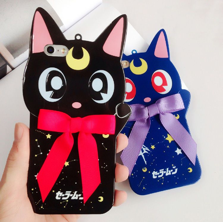Supply Hot Fashion Cute Cartoon Eyes Case For Iphone X 7 7plus Soft Silicon Case Sailor Moon For Iphone 6 6s 6splus 8 8plus Back Cover Phone Bags & Cases