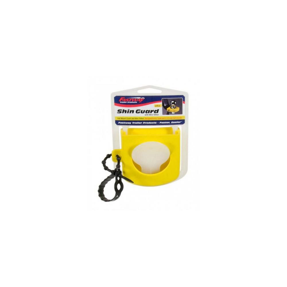 Fastway 82-00-3127 Hitch Yellow Shin Guard With Wire Tether