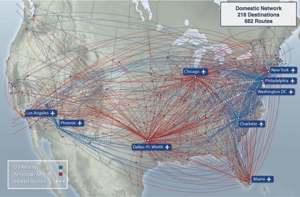 AA-UA domestic US combined   Aviation Art   Pinterest   Travel posters