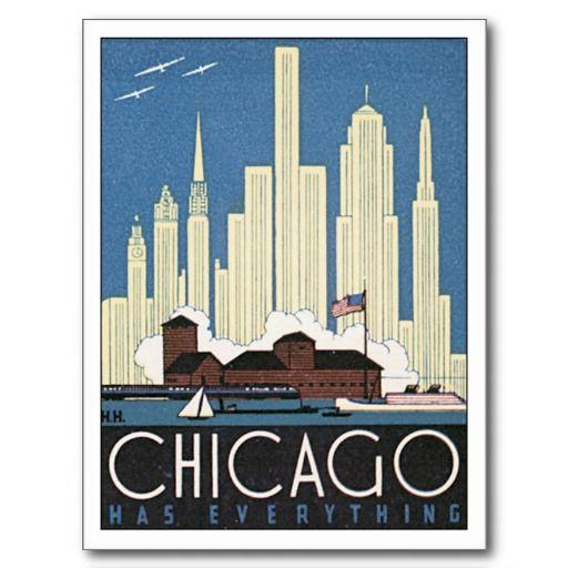 Résultats Google Recherche d'images correspondant à http://rlv.zcache.com/vintage_chicago_illinois_iltravel_poster_art_postcard-r36a88bb897c14496a9813c2d645cc9a0_vgbaq_8byvr_512.jpg