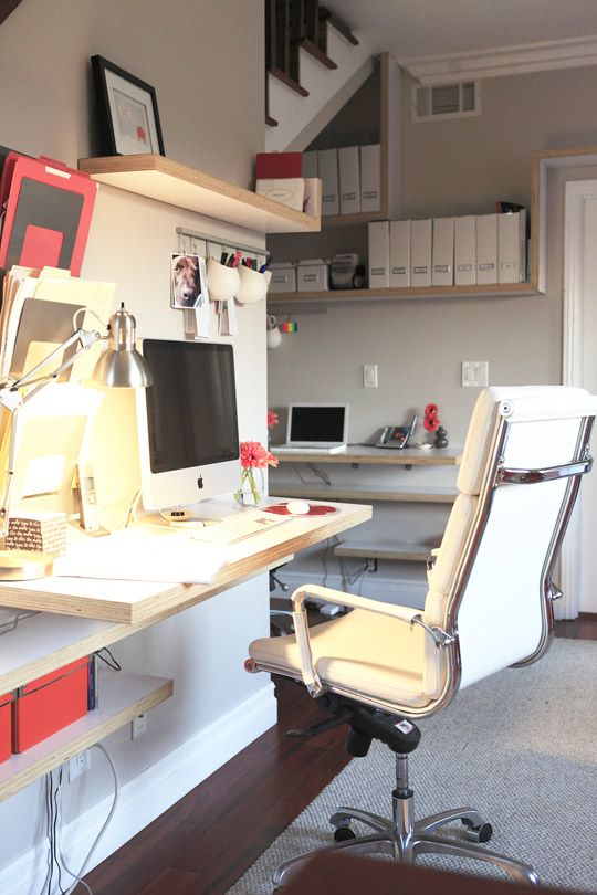 """Haily's """"Heart Of The Home"""" Office"""