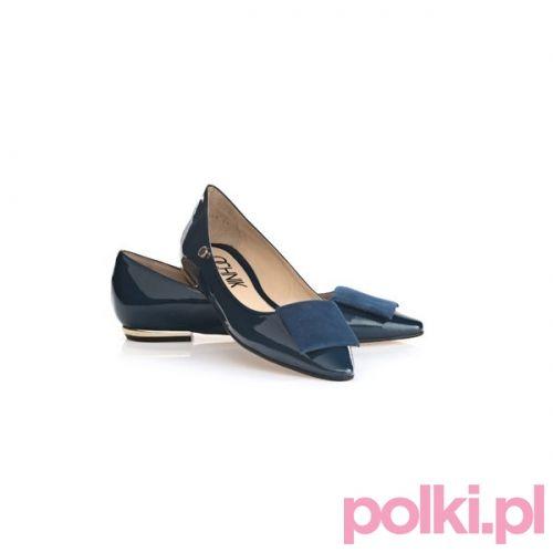 Granatowe Baleriny Ochnik Buty Shoes Polkipl Ochnik Polki Shoes Loafers