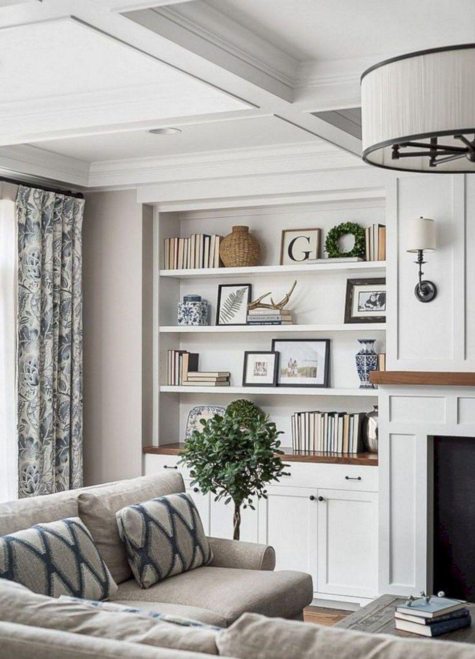 ✔82 wonderful modern farmhouse living room decor ideas 17 #modernfarmhouselivingroom
