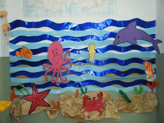 Decoracion el mar en infantil buscar con google verano for Decoracion verano jardin infantil