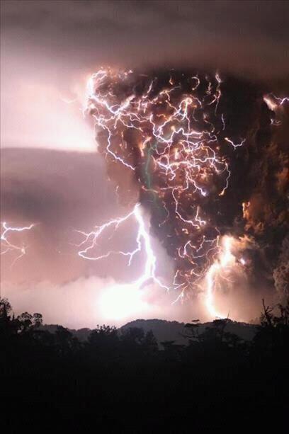 lightning in a tornado