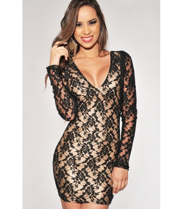 Black and gold illusion keyhole cocktail dress | Wife Stuff | Pinterest