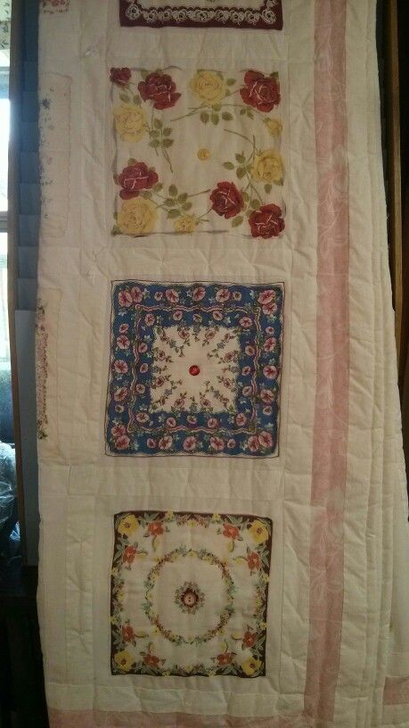 Hanky Quilt At Museum In Chiefland Quilting Pinterest