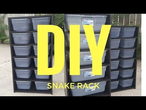 Diy For Pvc Rack System Build Cost For A Single Sheet Of Pvc That Will Make 3 Of These Racks Is About 150 Reptile Rack Diy Reptile Reptile Room