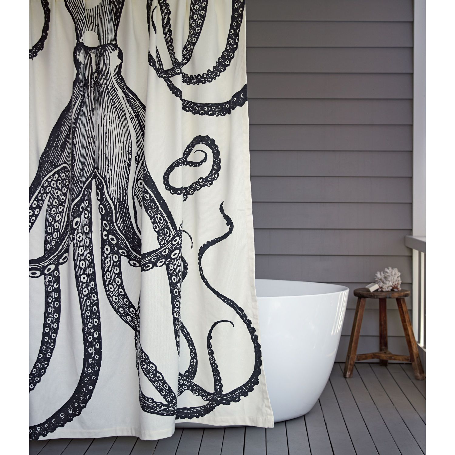 Octopus Shower Curtain | Domayne Online Store